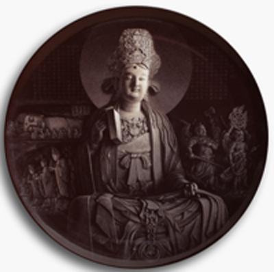 图3-87 丁邦海 黄玉双《大足之魂》刻瓷盘 直径1000mm.jpg