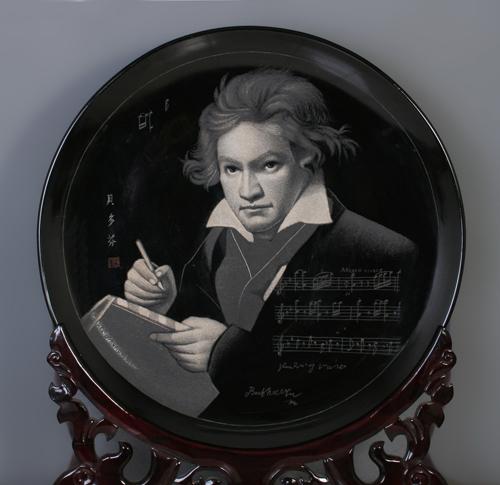 14、孙传成《贝多芬》刻瓷盘 直径740mm.jpg
