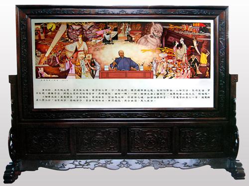 6、阎先公《狐谐鬼唱入聊斋》瓷板刻瓷 1050mm×2050mm.jpg