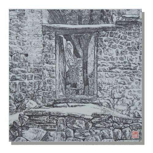2、尹干《鲁中山村》瓷板刻瓷560mm×560mm.jpg