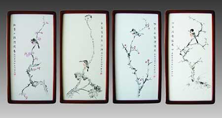 12、李戈程《四季花鸟条屏》瓷板刻瓷-300mm×600mm.jpg