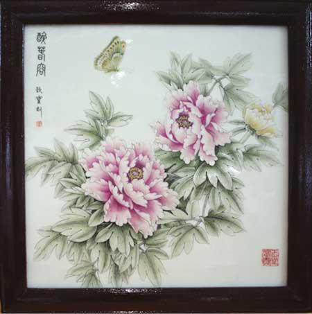 39-李勤宝《醉春容》刻瓷板-570mm570mm.jpg